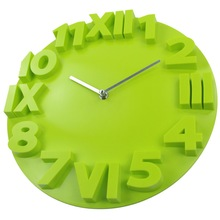 Large 3D Wall Clock Modern Living Room Decoration Plastic Time Clocks Quartz Mechanism and Needles