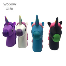 WOPOW Emoji power bank 2000MAH Unicorn Cartoon USB Output powerbank portable External battery pack charger with package(China)