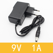 1pcs 9v 1a dc power adapter eu 5.5mm*2.1mm interface Power Supply 100-240v ac adapter for arduino UNO MEGA(China)