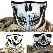 Modern Warfare Ghost Biker Mask Skiing Cosplay Half/Full Cover party gothic mask A2(China)