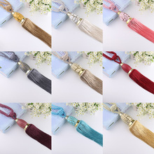 1 Pair Curtain Hanging Belt Ball Curtain Tieback Tassel Hanging Balls Curtain Accessories Bedroom Supplies Household Home Decor(China)