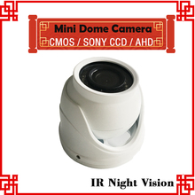 MINI Car Camera white color CCD Sony Waterproof Vehicle CCTV Camera For Car Dvr Retail Bus Taxi IR Camera Free Shipping(China)