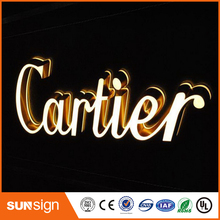 professional manufacture outdoor RGB LED letters sign acrylic signs for advertising(China)
