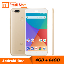 "Pre-sale Global Version Xiaomi Mi A1 12.0MP Dual Camera 4GB 64GB 5.5"" Snapdragon 625 Smartphone Full Metal Body Android One OS"