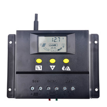 80A Solar Regulator Battery Panel Charger PWM Controller 80A 960W/12V/1920W/24V With LCD Display