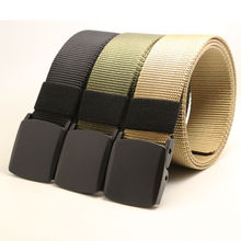 Outdoor Sports Military Men Fashion Belts Tactical Nylon Waistband Canvas Web Belt Hot Sale