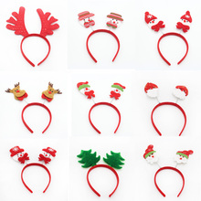 Springy Christmas Headbands, Adult Children's Christmas Head Clasp Party Supplies, Pretty Christmas Hairband Head Buckle(China)