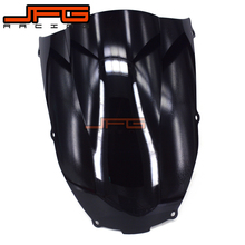 Black Windscreen Windshield for Kawasaki ZX6R ZX-6R ZX 6R ZX636 636 2000-2002 2000 2001 2002 Motorcycle(China)