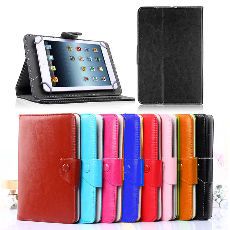 For Cube iwork 7 PU Leather Case Stand Cover For soulycin S7 S8 S18 Galapad 7 7.0 inch Universal Android Tablet bags<br>