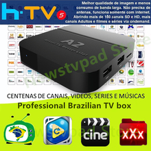 HTV BOX HTV3 HTV5 H.TV3 H.TV5 HTV A2 Portugal Brazilian BRAZIL TV Box Live Brazil Filmes OnDemand TV brasileiros Streaming box