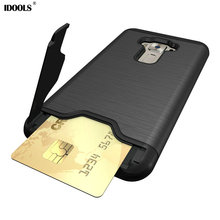 Case For Asus Zenfone 3 ZE552KL 5.5 inch Stand Mobile Cover Holder Back Phone Bags Cases for Asus Zenfone 3 ZE552KL Coque IDOOLS(China)