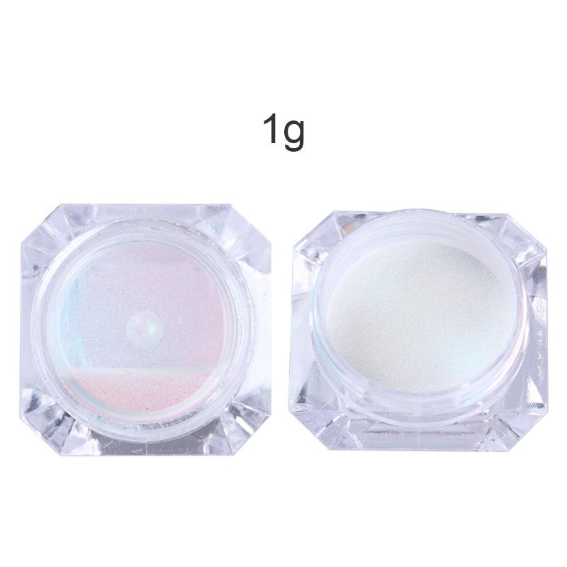 BORN PRETTY Mirror Nail Glitter Pigment Powder 1g Gold Blue Purple Dust Manicure Nail Art Glitter Chrome Powder Decorations 2