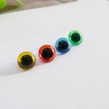 40pcs/lot 9mm/10.5mm/12mm/13.5/15mm red/green/blue/yellow button handscrew safety toy eyes -size color option(China)