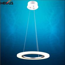 Factory outlets! Ultra-low prices! Single turn 40cm- sales, AC90-265V, acrylic chandelier,led pendant lamp