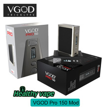 New Arrival Mechanical Box Mod VGOD PRO150 Box Mod VS COILART MAGE TRICKER BOX MOD