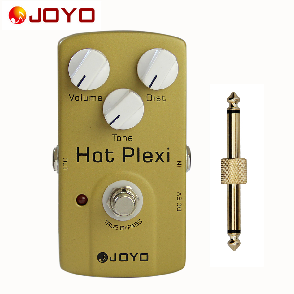 JOYO JF-32 Hot Plexi True Bypass Classic JCM800 Amp Simulation Pedal with Greater Distortion and Stronger Output +1 pc connector<br>