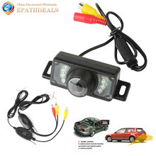 Waterproof IR Night Vision Auto Car Rear View Reverse Backup Camera + 2.4G Wireless Color Video Transmitter Receiver Parking Kit(China)