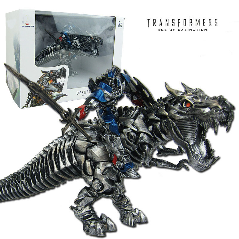 25cm Big Tyrannosaurus Rex Optimus Prime Figurine Doll Model Cartoon Ornaments Arts Crafts Children Christmas Gifts Toy RT114<br><br>Aliexpress