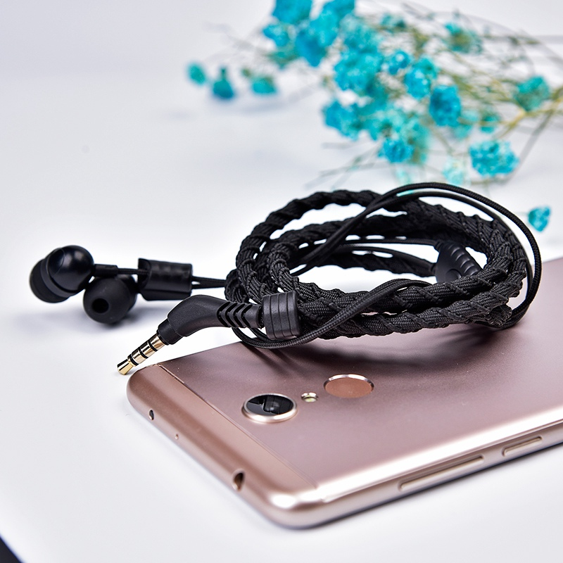 Artisome Wired Bracelet Earphone With Microphone 3.5mm Fabric Braided Earphone For Phone Headphones For iPhone Adroid (18)