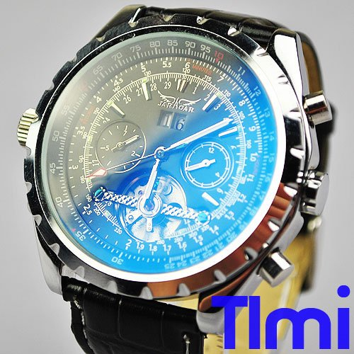wristwatch !New Discoloration Army Military Style Mens AUTO Watch<br>