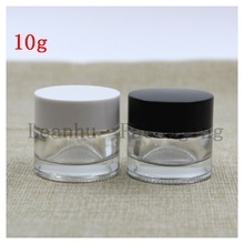 Wholesale Clear Glass Cream Jar,Empty Cosmetics Packaging Container,DIY Beauty Skin Care Women's Personal Care Sample Bottle