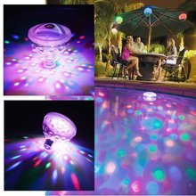 Underwater Lights LED Floating Glow Disco Party Swimming Pool Tub Spa Kid Children Toy Waterproof Night Lamp AAA Battery Powered
