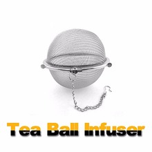 2018 New Fashion Tea Bags Stainless Steel Mini Tea Ball Infuser High Quality Filter Loose Tea Leaves Strainer Hot Tools 350ml(China)