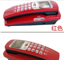 Battery-free Caller ID Phone,Wall hanging Small extension Telephone mini telephone  home telephone telefono fijo Elefon