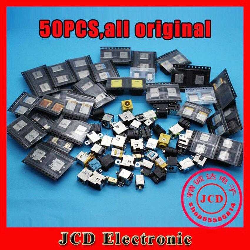 YuXi 50 models, 50PCS/LOT,DC power jack for ASUS for HP for Acer for Dell etc,DC jacks socket connector<br>