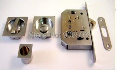2sets free shipping Modern square shape sliding door lock,hook lock,locks for sliding doors<br>
