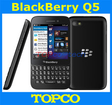 "Original unlocked Blackberry Q5 mobile phone Dual-core 3.1"" touch screen+QWERTY 3G&4G GSM 5.0MP 2GRAM+8GROM freeshipping"