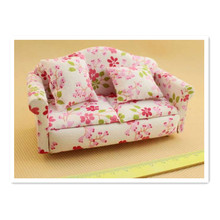 New 1:12 Miniature Doll Furniture Sofa Accessories for  Doll Toys,Hot Mini Doll Chair Toys for Child's Play