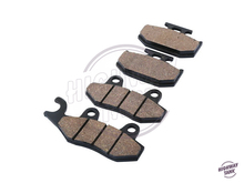 Motorcycle Front Rear Brake Pads case for Kawasaki KX 125 250 500 KX125 KX250 KX500 1989 1990 1991 1992 1993 1994 free shipping
