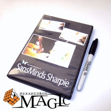2014 HOT NEW SansMinds Sharpie with Gimmick by will Tsai / close-up street magic tricks products toys wholesale free shipping(China)