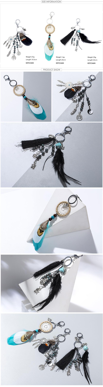Handmade Dreamcatcher Keychain