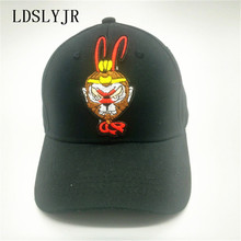 LDSLYJR 2017 cotton Cartoon monkey Adjustable Baseball cap snapback cap boys girls hat travel hats for kids and adult 125(China)