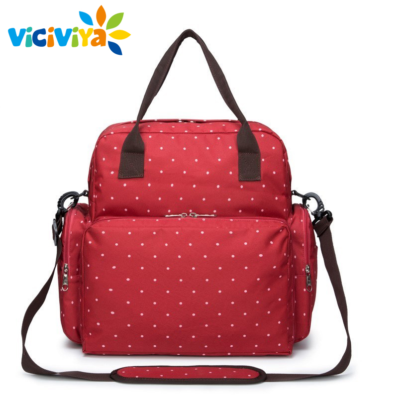 New Large Capacity Designer Baby Bags for Mummy Diaper Bag Backpack Baby Stroller Carriage Pram Accessories Nappy Bags/<br>