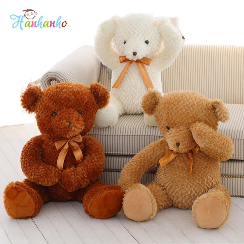 Giant Shy Teddy Bear Plush Toy Kids Big Stuffed Animal Doll Children Birthday Party Gift 80cm<br><br>Aliexpress