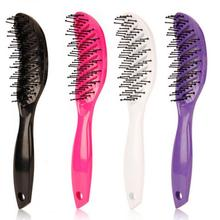Salon Hair Brush Hair Scalp Massage Comb Professional Detangle Paddle Hairbrush Hairdressing Styling Tools Arched Design Z3