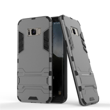 Soft TPU Hybrid Shockproof Armor Cover Cases for Samsung Galaxy S8 Case for Samsung Galaxy S8 Plus Case Rugged TPU Phone Cases