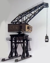 1/87 Model Train ho scale large stoker crane diy kit architectural Model material sand table Model materials Free Shipping