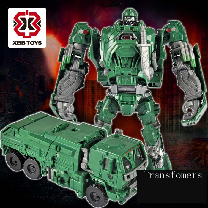 Deformation Robot Chameleon Birthday Gift Transformation Detective Model Diamond Optimus Sharp Change Garbage Truck Toys(China (Mainland))
