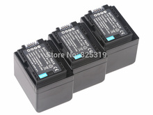 3pc 3.6V BP-727 rechargeable Battery BP 727 Camera batteries for Canon LEGRIA VIXIA iVIS HF R76 R706 R62 R60 R52 R50 R500 R600
