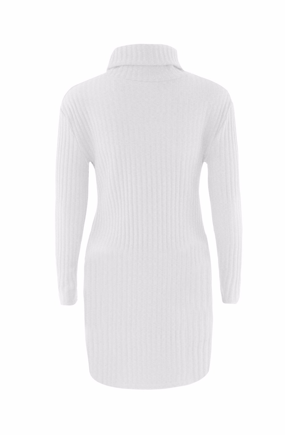 Turtleneck Long knitted pullover sweater, Women's Jumper, Casual Sweater 42