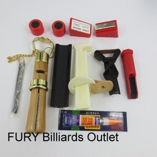 Snooker cue repairs kit/ 10 pcs /Tip sander billiard cue repair tools /Glue File cue tips in billiard accessories