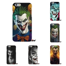 For Xiaomi Redmi 3 3S Pro Mi3 Mi4 Mi4C Mi5S Note 2 4 Joker Batman The Killing Joke Black Hard Transparent Silicone Case Cover