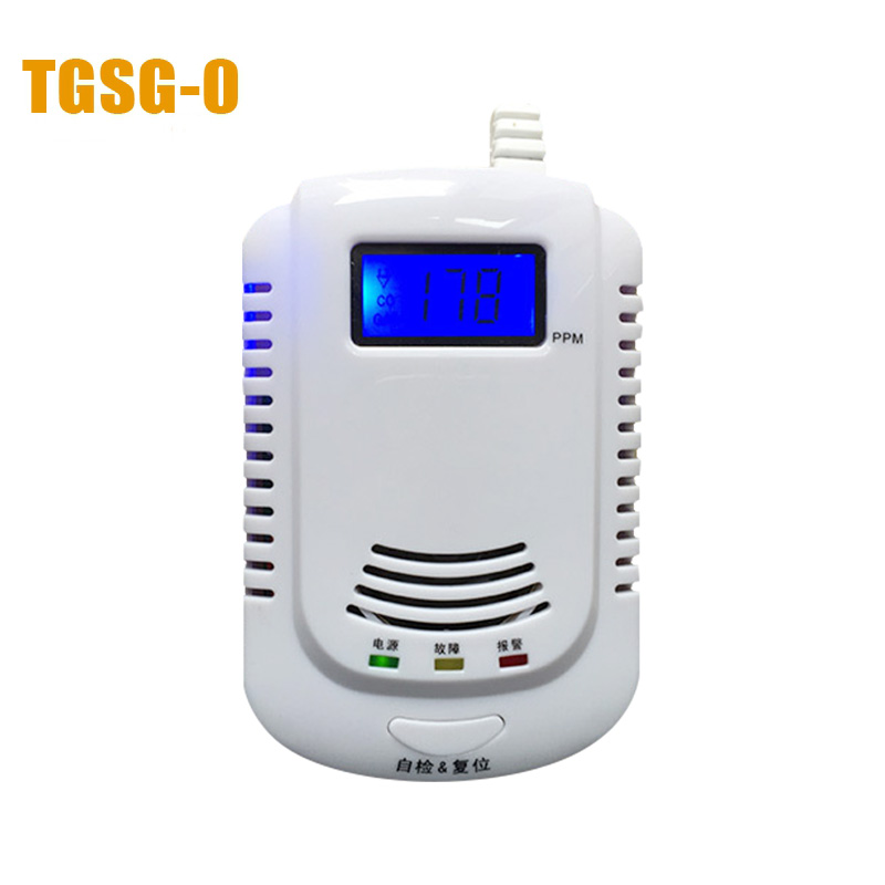 HA-02 Home alerter  intelligent voice CO+Natural gas alarm/home alarm  Gas Alarm <br>