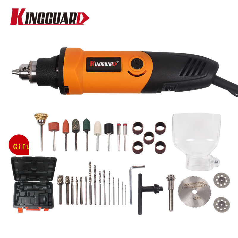 400W Mini Electric Drill with 6 Position Variable Speed Dremel style Rotary Tools Mini Grinder Grinding Machine<br>