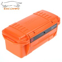 EDC Gear Outdoor Survival Case Waterproof Shockproof Storage Box ABS plastic material Small size Box Camping Tools 20*10*8 cm