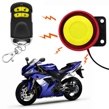 Motorcycle Alarm and Theft Protection Device Car Alarm 12V Cutting Line Protection Dual Remote Control Type Moto Accessories